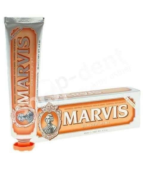 Marvis Ginger Mint - Pasta do zębów o smaku imbiru i mięty 85ml