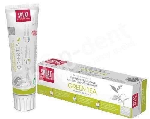 SPLAT Professional GREEN TEA BIO ACTIVE - Pasta do zębów bez fluoru 100ml
